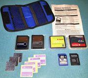 SD-Speicherkarten und Smart Media Karten