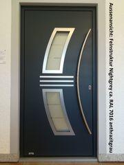 Aluminium-Haustür Ausstellungsstück Nr 9