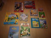 Kinderbücher und Puzzle