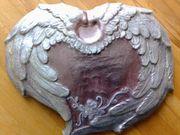 Wanddeko aus Keramik