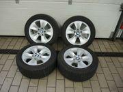 Verkaufe Alu-Felgen mit Sommer-Breit-Reifen für