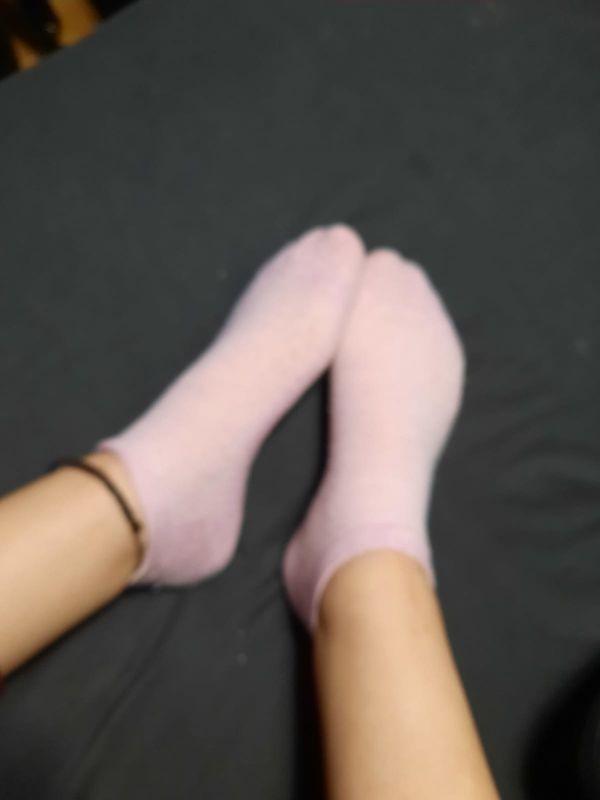 Fußbilder meiner sexy sklavin