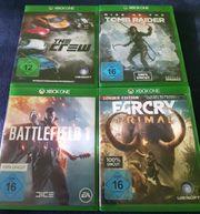9 Xbox one Spiele zu