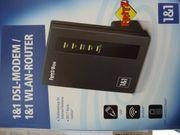 DSL MODEM-Wlan-Router