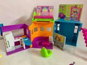 Polly Pocket Haus mit Zubehör