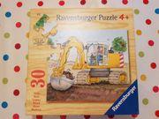 Ravensburg Puzzle Bagger Baustelle 30