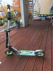 Hudora Big Wheel Roller silber