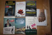 Diverse Bücher Thriller und Romane