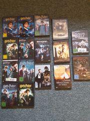 DVDs 16 Filme als Konvolut