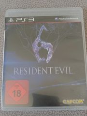 Resident Evil 6 PS3 Playstation