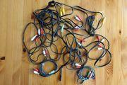 Audio-Kabel AV - Stecker - verschiedene - Abholung