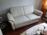 Sofa Garnitur echtes Leder