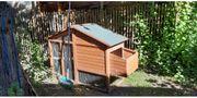 Hühner- oder Hasenstall für Außenhaltung