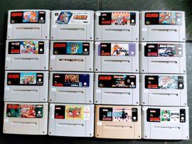 SNES Super Nintendo Spiele: Kleinanzeigen aus Rödersheim-Gronau - Rubrik Nintendo, Gerät & Spiele