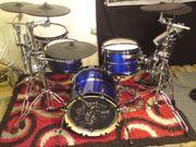 Roland TD9 mit Eigenbau E-Drumkessel