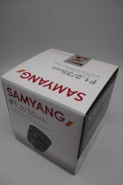 Samyang 35 mm f 1