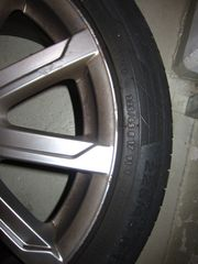 Reifen auf Felgen Audi A4