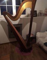 Harfe Salvi Sinfonietta Doppelpedalharfe mit