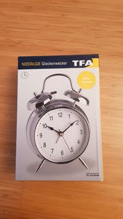 Nostalgie Glockenwecker TFA OVP