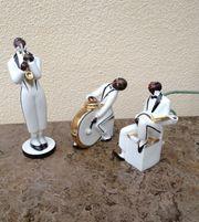 Jazz-Band-Musiker robj Porzellan Art-Deco