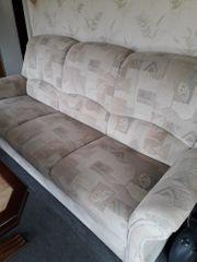 Couch Sessel und Hocker