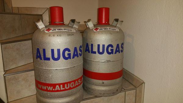 Alu Campinggasflasche 11 kg leer