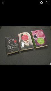 Alle 3 Bücher fifty shades