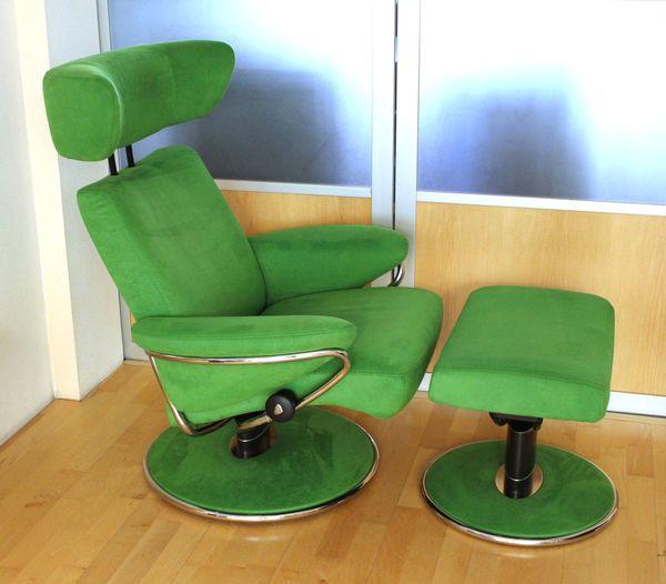 Stressless Sessel Jazz grün ein