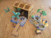 Playmobil Piratenschatzkiste und Piraten Super