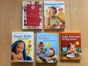 5x Bücher Schwangerschaft und Klein-