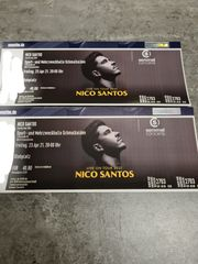 Konzert Tickets Nico Santos 2021