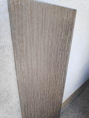 Glasplatte braun 142cm x 41cm