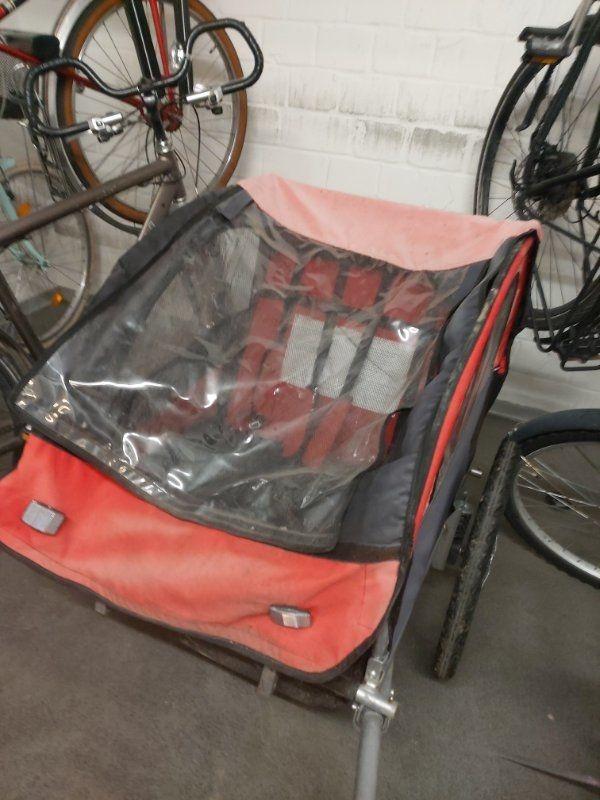 Fahrrad Anhänder 2 Sitzer