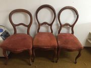 3 Stk Barock Stühle