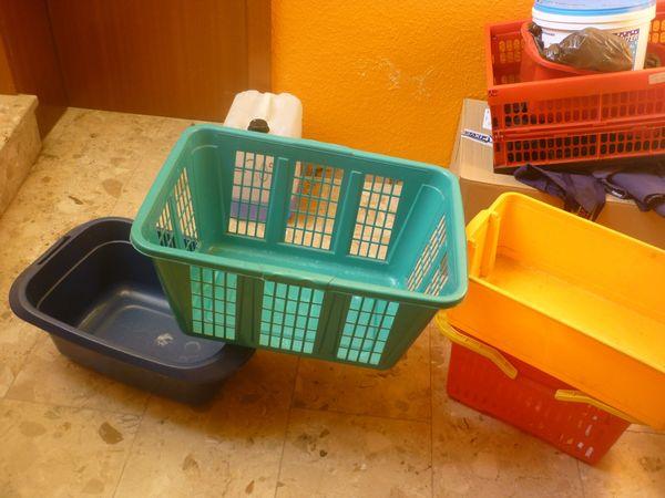 Wäschekorb-Klappbox etc
