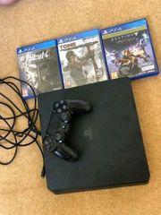 PS 4 mit 3 Spielen