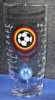 Bierglas Deutsche Nationalspieler WM 1966