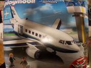 PLAYMOBIL Flugzeug mit Tower und
