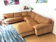 Vintage XXL Couch Sofa Wohnlandschaft