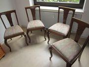Stuhl Stuhlgruppe Eiche dunkel