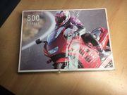 Puzzle - Motorradfahrer