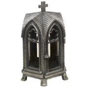 Grablaterne Anthrazit Kapellen Form mit