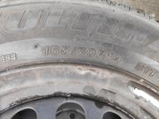 Stahlfelgen mit 165 70R14 Reifen