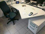 Gebrauchte Schreibtische rollcontainer und stuhl
