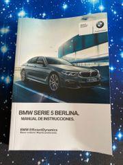 BMW G30 Betriebsanleitung spanisch im