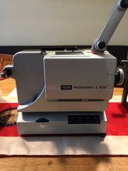 Projektor für Filme Noris Record