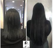 Natürliche Haarverlängerung Haarverdichtung