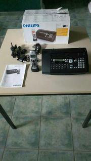 Philips Kombifax mit Schnurlostelefon