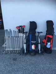 Golfbag mit Trolley