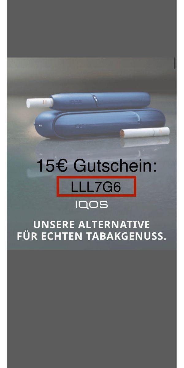 15EUR IQOS Gutschein